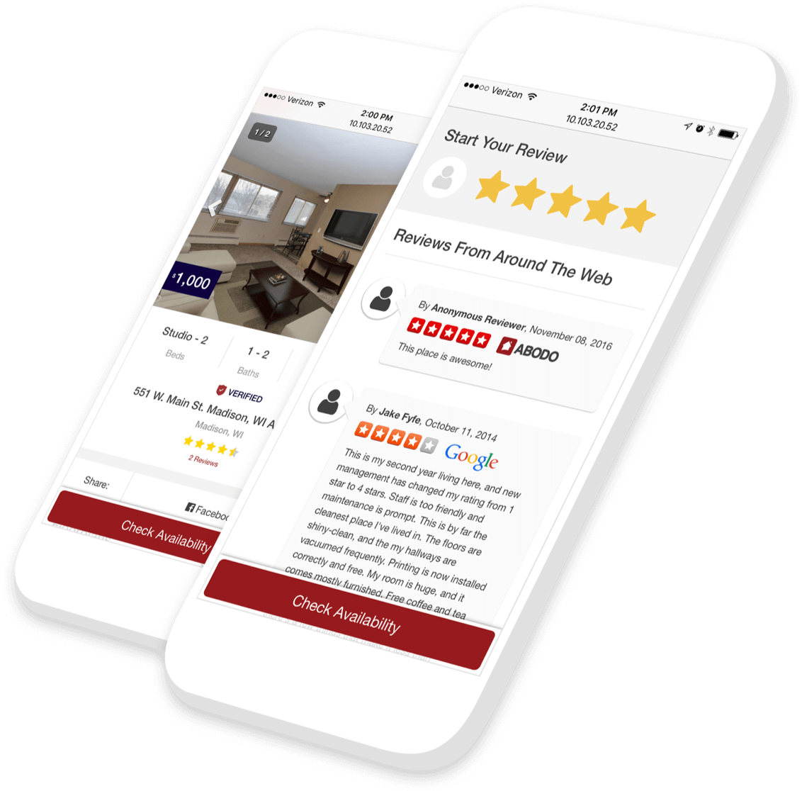 Find Apartments For Rent Near You   ABODO